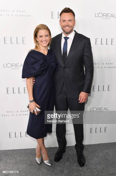 Sarah Williams and Joel McHale attend ELLE's 24th Annual Women in Hollywood Celebration presented by L'Oreal Paris Real Is Rare Real Is A Diamond and...
