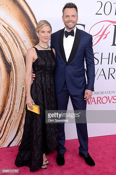 Sarah Williams and Joel McHale attend the 2016 CFDA Fashion Awards at the Hammerstein Ballroom on June 6 2016 in New York City
