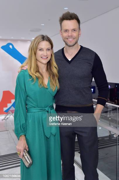 Sarah Williams and Joel McHale attend the Hammer Museum 16th Annual Gala in the Garden with generous support from South Coast Plaza at the Hammer...