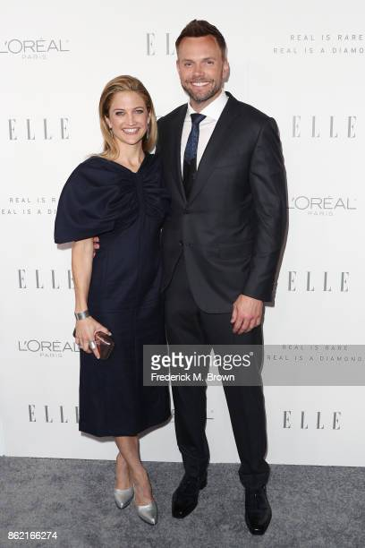 Sarah Williams and Joel McHale attends ELLE's 24th Annual Women in Hollywood Celebration at Four Seasons Hotel Los Angeles at Beverly Hills on...