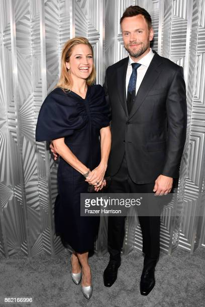 Sarah Williams and Joel McHale attends ELLE's 24th Annual Women in Hollywood Celebration presented by L'Oreal Paris Real Is Rare Real Is A Diamond...