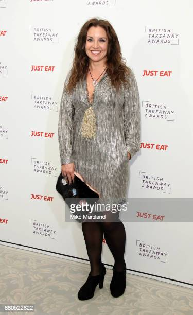 Sarah Willingham attends The British Takeaway Awards at The Savoy Hotel on November 27 2017 in London England
