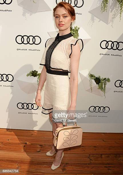 Sarah Winter attends day two of the Audi Polo Challenge at Coworth Park on May 29 2016 in London England