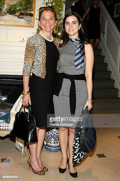 Sarah Wolfe and Whitney Wolfe attend RACHEL ROY Fall 2007 Collection Preview Party at The Townhouse at 20 East 63rd Street on May 17 2007 in New York...