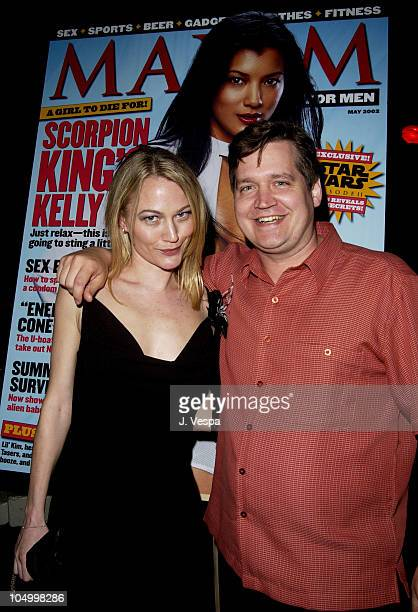 Sarah Wynter and Keith Blanchard EditorinChief Maxim