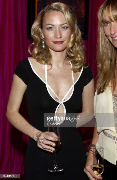 Sarah Wynter during Elton John AIDS Foundation's 11th Annual Oscar party cohosted by In Style and AOL in association with MAC Cosmetics and Global...