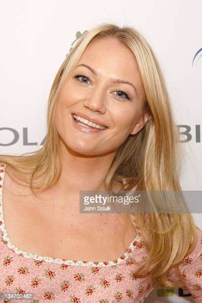 Sarah Wynter during Glamour Magazine Presents Biolage Golden Globe Style Lounge Day 1 at L' Ermitage in Beverly Hills CA United States