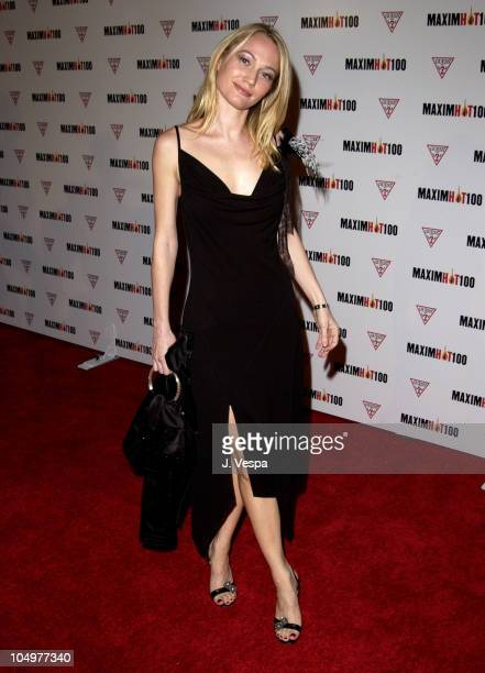 Sarah Wynter during Maxim Hot 100 Party Arrivals at Yamashiro in Hollywood California United States