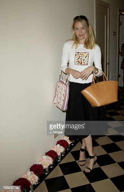 Sarah Wynter during The Cabana Beauty Buffet Day 1 at The Chateau Marmont Hotel in Los Angeles California United States