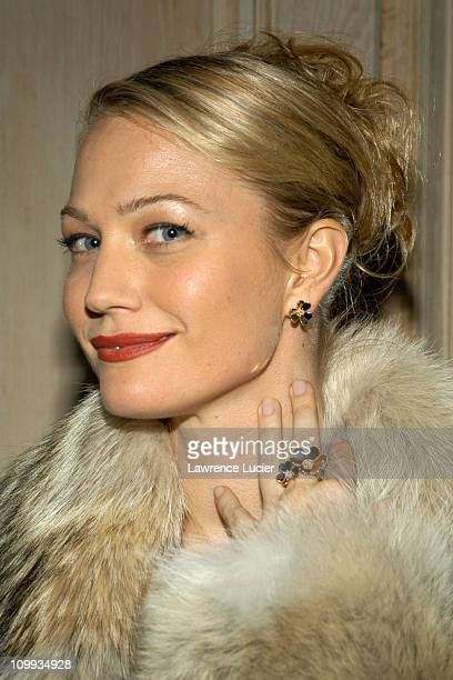 Sarah Wynter during The Launch Of The Frivole Collection at Van Cleef & Arpels in New York City, New York, United States.