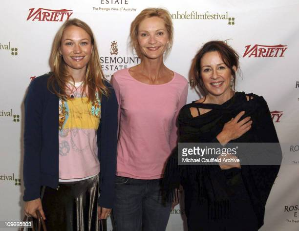 Sarah Wynter Joan Allen and Patricia Heaton during Jackson Hole Film Festival and Rosemount Estate Announce the Rosemount Diamond Award Winner at...