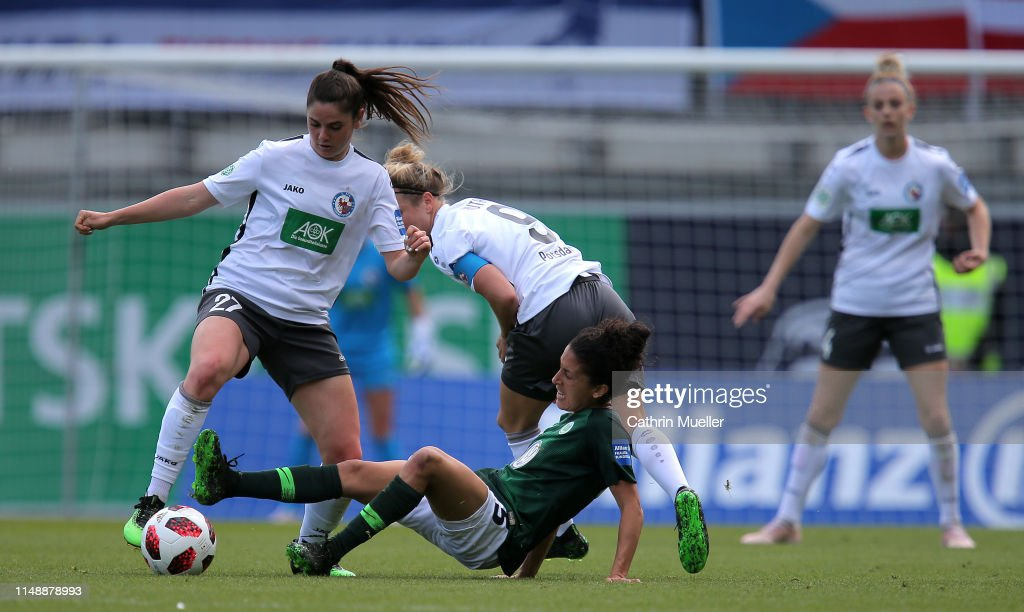VfL Wolfsburg v Turbine Potsdam - Allianz Frauen-Bundesliga : News Photo