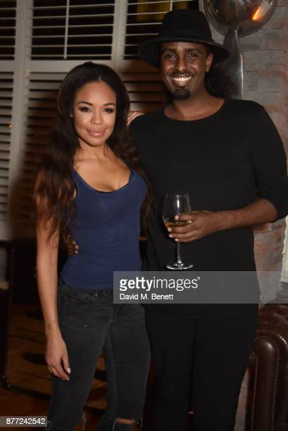 SarahJane Crawford and Mason Smillie attend Mason Smillie's birthday party at McQueen on November 21 2017 in London England