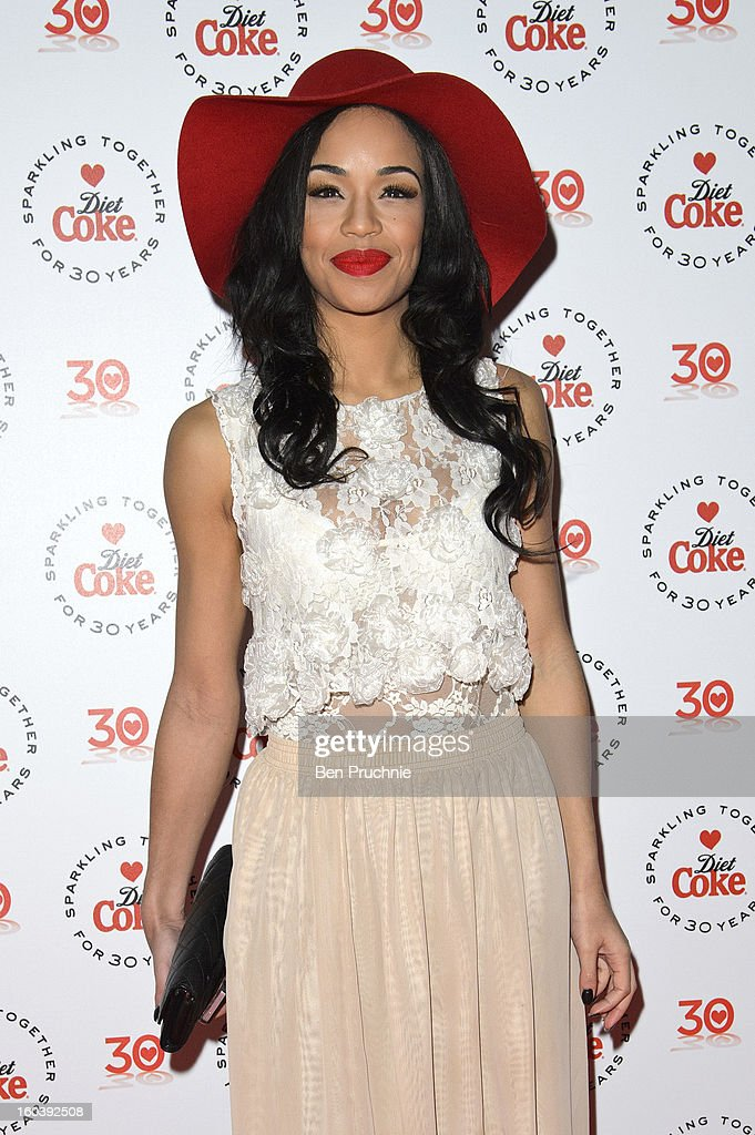 Sarah-Jane Crawford attends a party hosted by Diet Coke at Sketch on January 30, 2013 in London, England.