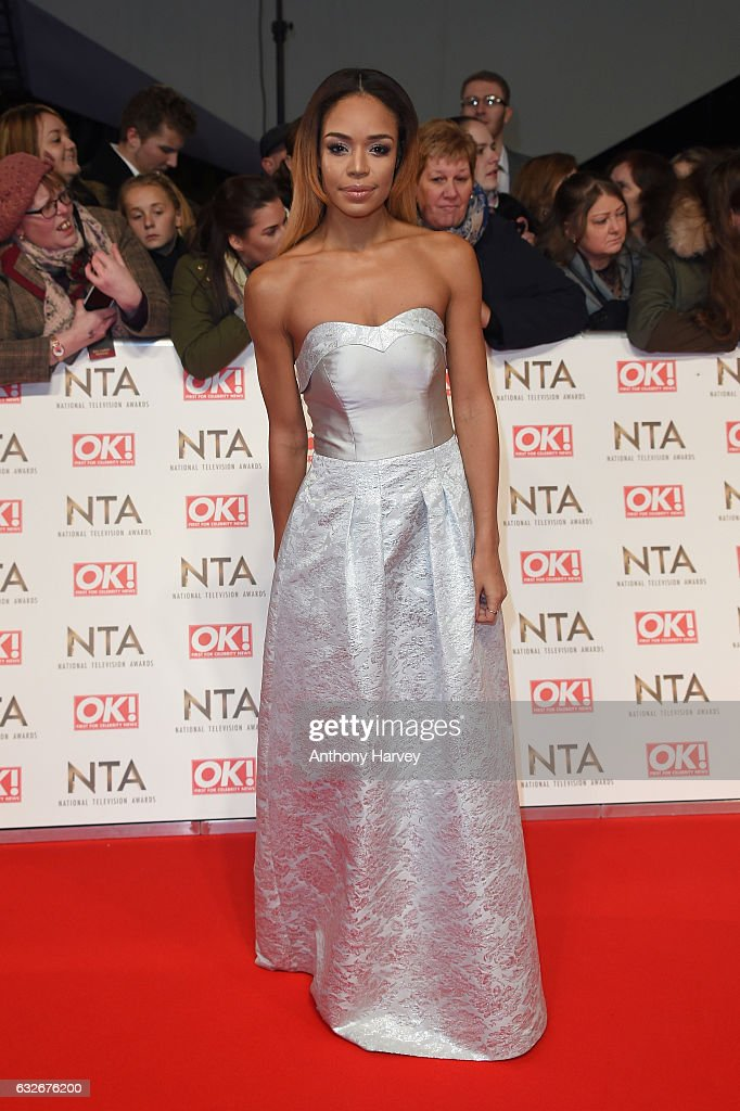 Sarah-Jane Crawford attends the National Television Awards on January 25, 2017 in London, United Kingdom.