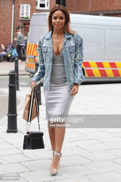 SarahJane Crawford attends the new series launch of 'Celebs Go Dating' on August 16 2017 in London England