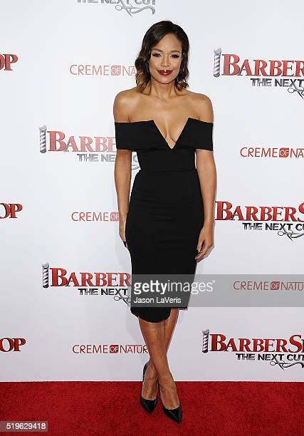 SarahJane Crawford attends the premiere of 'Barbershop The Next Cut' at TCL Chinese Theatre on April 6 2016 in Hollywood California