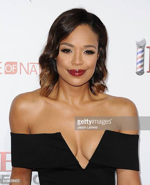 SarahJane Crawford attends the premiere of Barbershop The Next Cut at TCL Chinese Theatre on April 6 2016 in Hollywood California