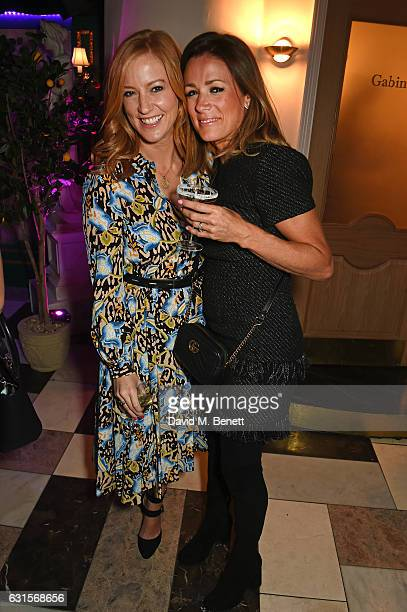 SarahJane Mee and Natalie Pinkham attend the launch of Bunga Bunga in Covent Garden on January 12 2017 in London England