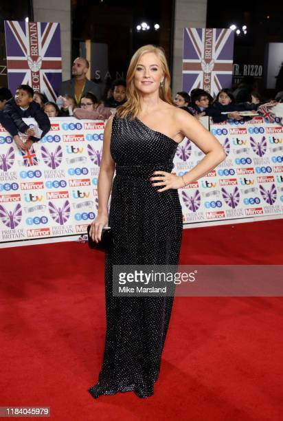 Sarah-Jane Mee attends Pride Of Britain Awards 2019 at The Grosvenor House Hotel on October 28, 2019 in London, England.