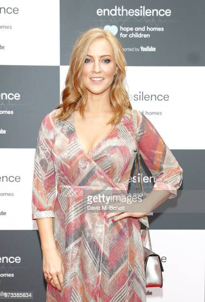SarahJane Mee attends the 3rd annual 'End The Silence' charity gala in aid of 'Hope and Homes for Children with live performances by Snow Patrol Tom...