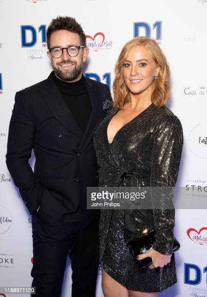 Sarah-Jane Mee attends the Fall Ball 2019 at Cafe de Paris on November 20, 2019 in London, England.