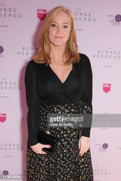 Sarah-Jane Mee attends the Lady Garden Foundation Gala 2019 at Claridge's Hotel on October 16, 2019 in London, England.