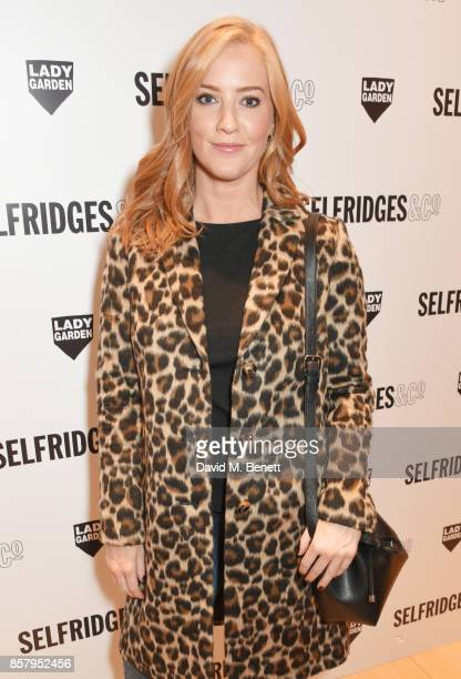 SarahJane Mee attends the launch of the new Lady Garden limited edition tshirts designed by Naomi Campbell Cara Delevingne Poppy Delevingne Chloe...