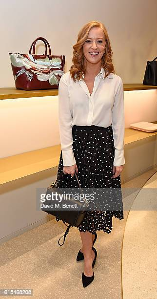 SarahJane Mee attends the launch of the unique collaboration between designers John Monique Davidson and artist Tanya Ling at JM Davidson's Mount...