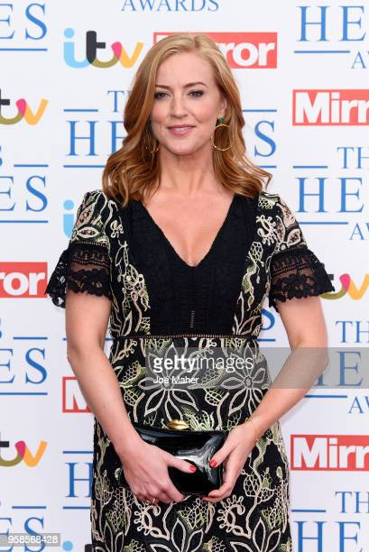 SarahJane Mee attends the 'NHS Heroes Awards' held at the Hilton Park Lane on May 14 2018 in London England