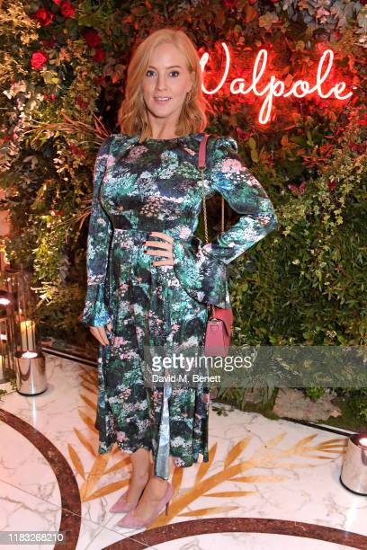 Sarah-Jane Mee attends the Walpole British Luxury Awards 2019 at The Dorchester on November 18, 2019 in London, England.