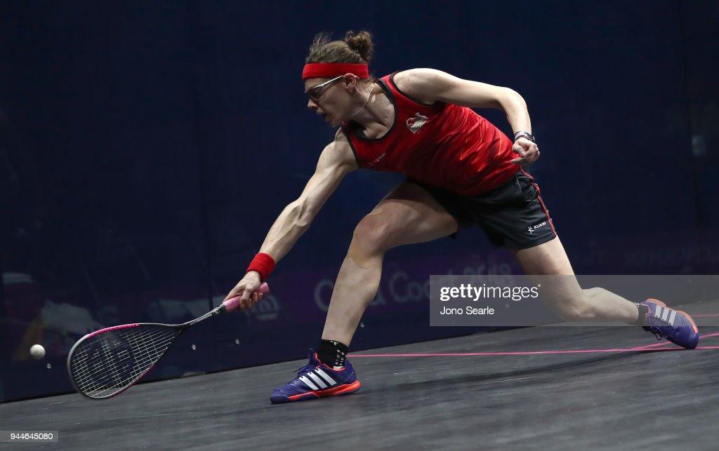 Squash - Commonwealth Games Day 7 : News Photo