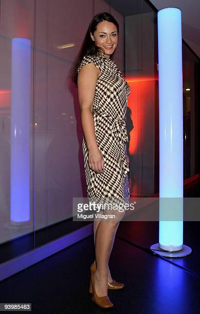 Sarah-Maria Besgen attends the 'ARD Advent Dinner' on December 4, 2009 in Munich, Germany.