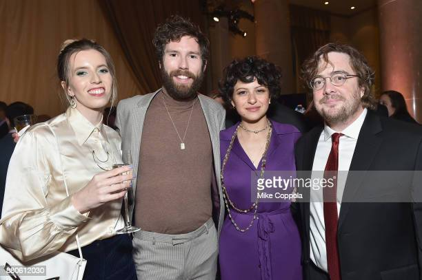 SarahViolet Bliss Charles Rogers Alia Shawkat and Macon Blair attend IFP's 27th Annual Gotham Independent Film Awards on November 27 2017 in New York...