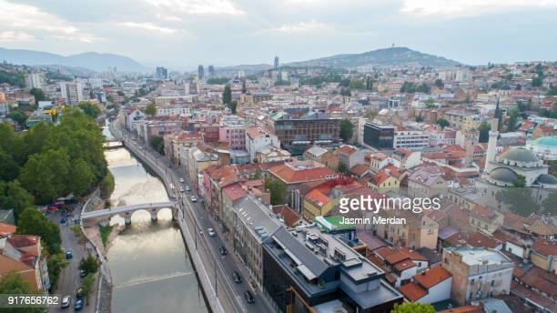 Sarajevo city, capital of Bosnia and Herzegovina