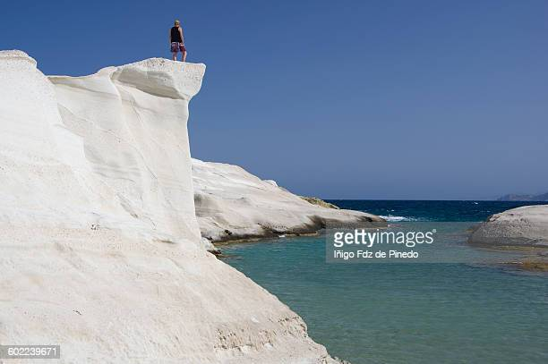 Sarakiniko beach-Milos island-Greece