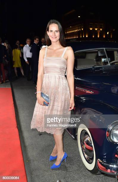 Saralisa Volm during the opening night of the Munich Film Festival 2017 at Bayerischer Hof on June 22 2017 in Munich Germany