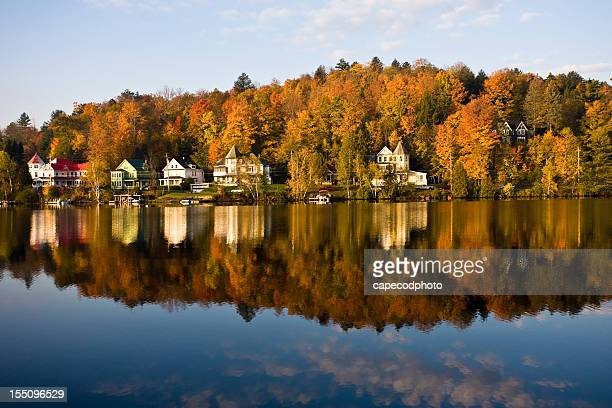 Saranac Lake Reflection