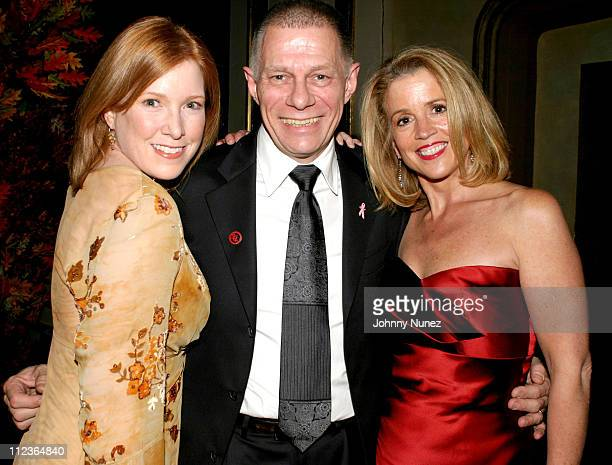 Saranne Rothberg of Comedy Cures Paul Nicholls and Jane Hanson of WNBC