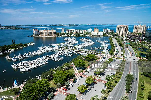 sarasota florida waterfront - sarasota stock photos and pictures