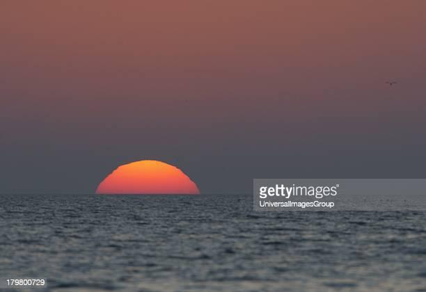 Sarasota, Siesta Key, The Setting Sun, Gulf Coast, Florida.