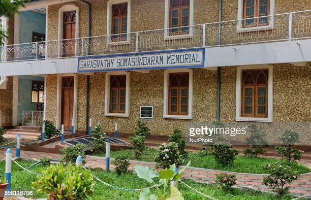 Saraswathy Somasundaram Memorial Building at the Uduvil Girls College in the town of Inuvi in Jaffna Sri Lanka Uduvil Girls College was established...