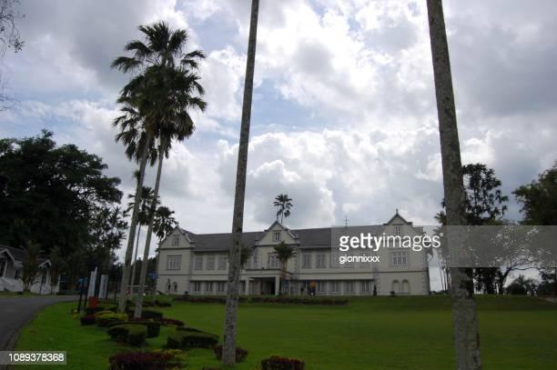 sarawak state museum, kuching, malaysia - sarawak state stock pictures, royalty-free photos & images