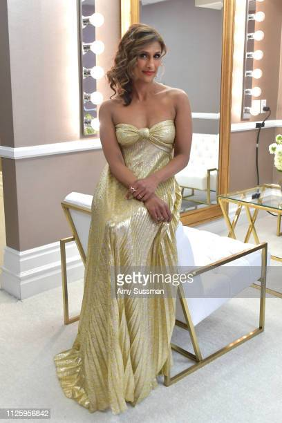 Sarayu Blue attends The 21st CDGA at The Beverly Hilton Hotel on February 19 2019 in Beverly Hills California