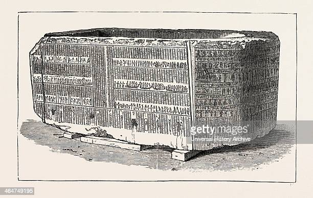 Sarcophagus In Which The Embalmed Body Of Alexander The Great Was Supposed To Have Been Deposited By Ptolemy From The Ruins Of The Soma In Alexandria...
