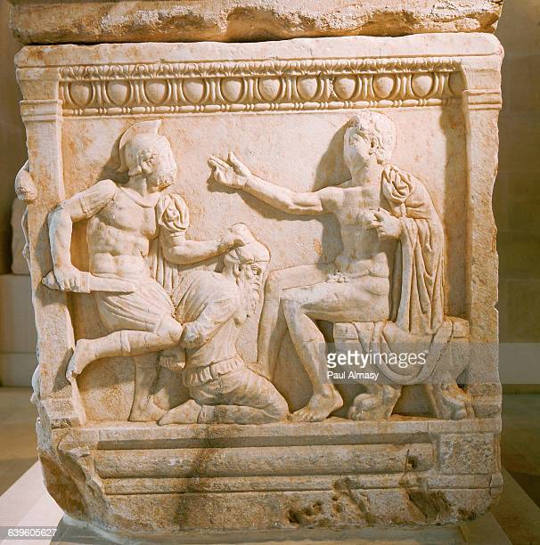 Sarcophagus With a Scene From the Trojan War