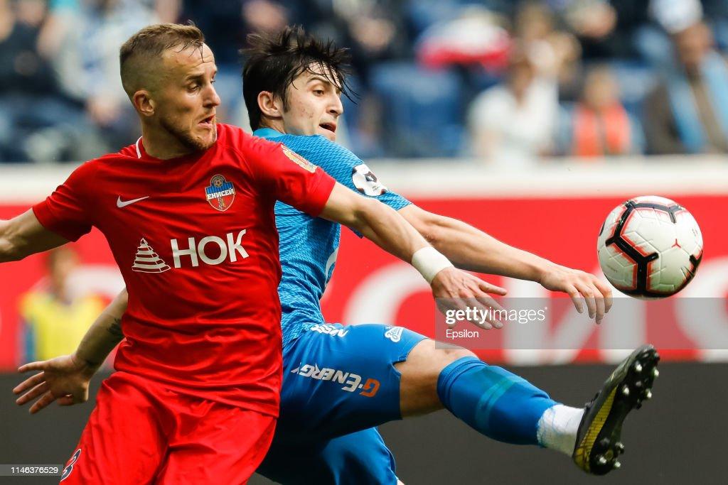 RUS: FC Zenit Saint Petersburg vs FC Enisey Krasnoyarsk - Russian Premier League