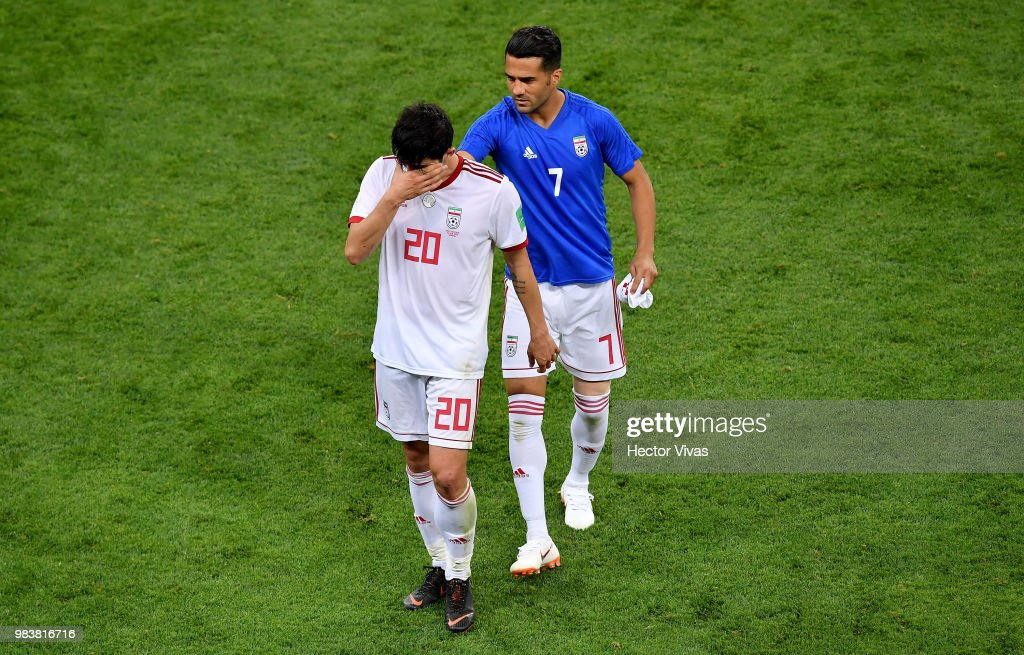 Iran v Portugal: Group B - 2018 FIFA World Cup Russia : ニュース写真