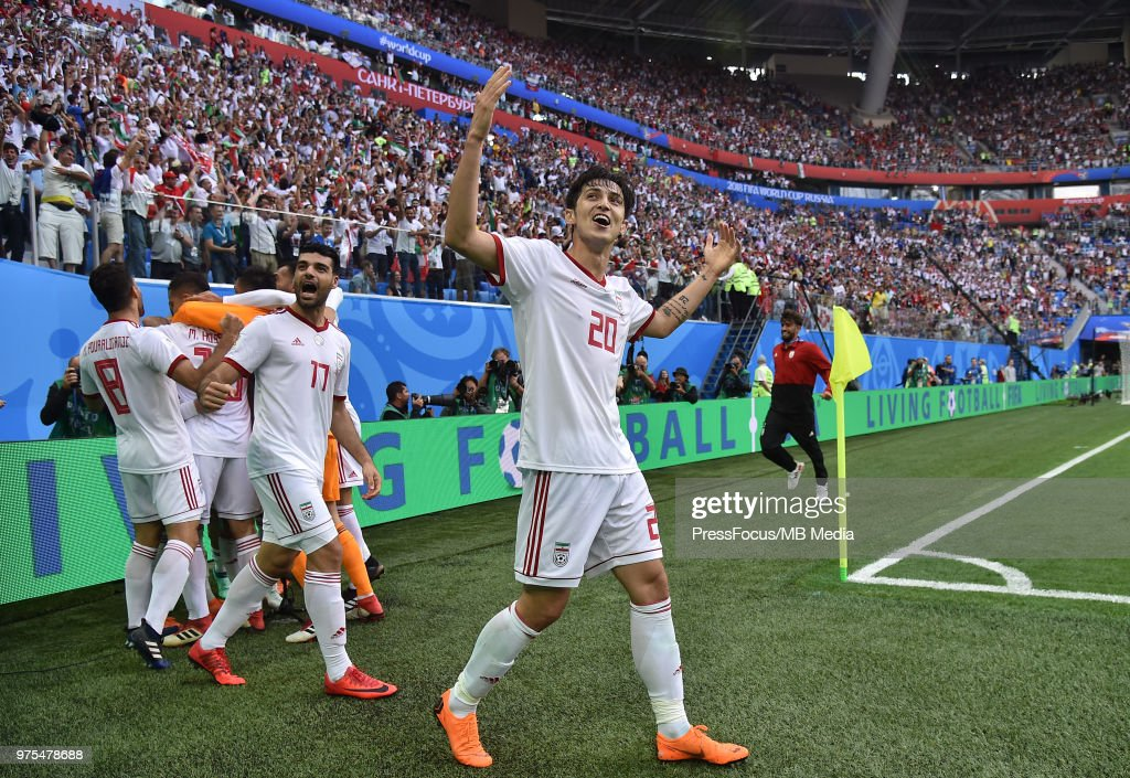 Morocco v IIran: Group B - 2018 FIFA World Cup Russia : News Photo