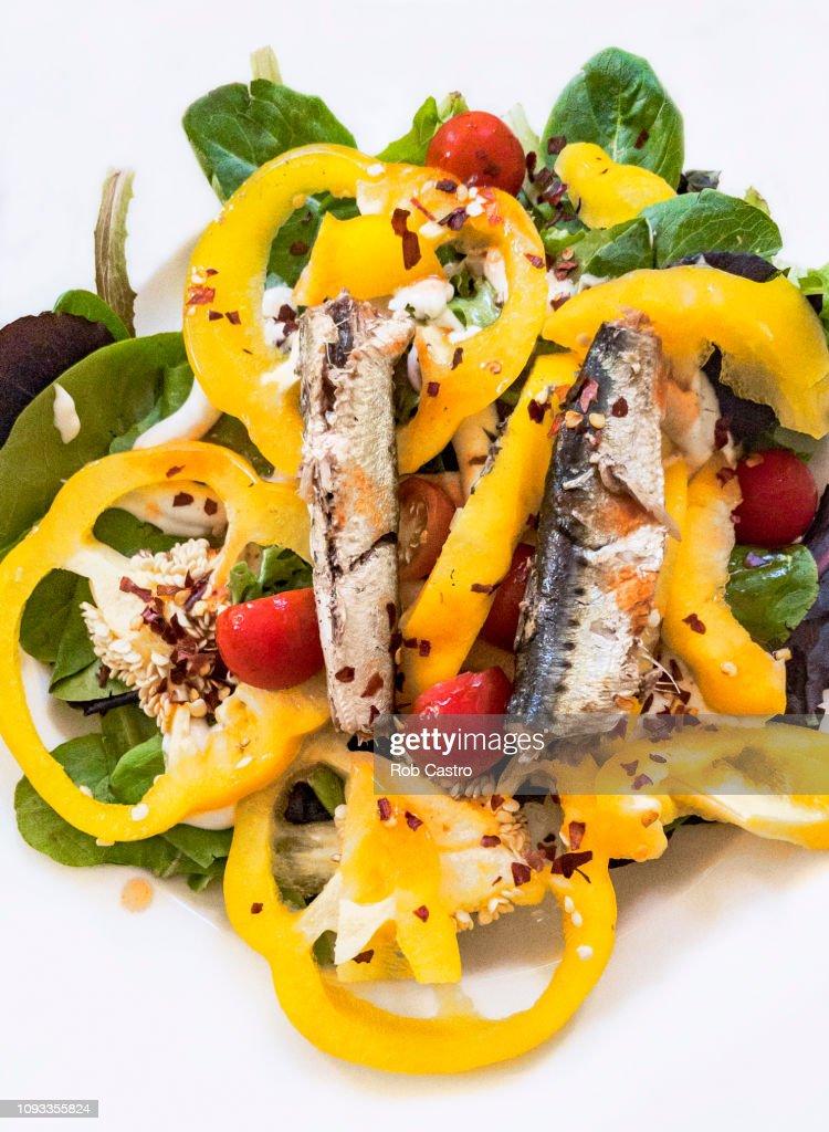 Sardine Salad : Stock Photo